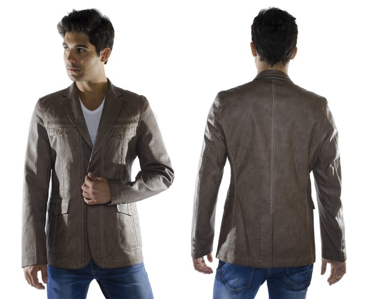 BROWN BLAZER BL1910