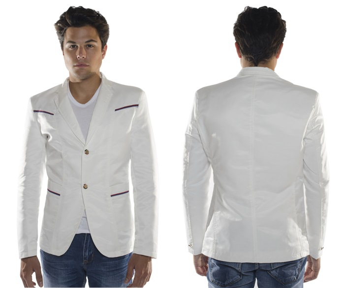 FASHION WHITE  BLAZER BL1913