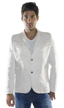 fashion white blazer